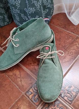Туфли из натуральной замши nobrand