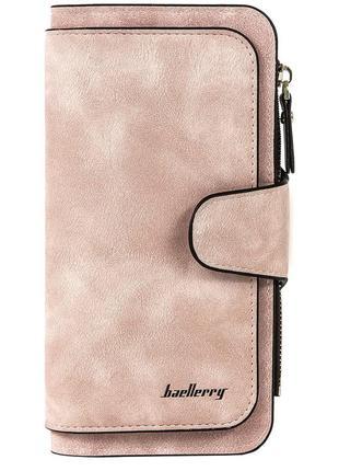 Женский кошелек портмоне baellerry forever розовый