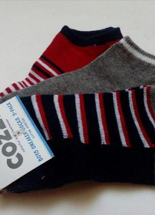 Носки короткие детские cozzi (нидерланды) набор из 3 шт.