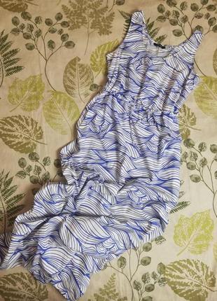 Распродажа)))фирменное макси платье сарафан esmara 100% коттон