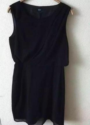 Черное платье f&f