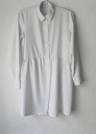 Удлинённая рубашка туника платье