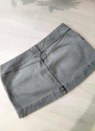 Брендовая джинсовая юбка new look3 фото