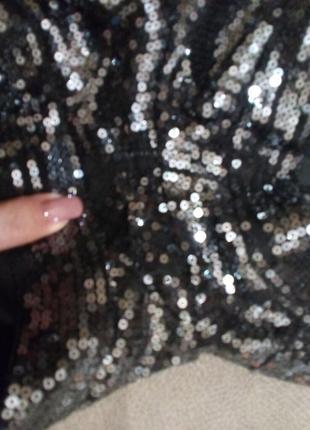 Бомбезные шорты в пайетках-12 \14р италия7 фото