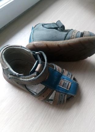 Босоножки сандали кожа ортопедические