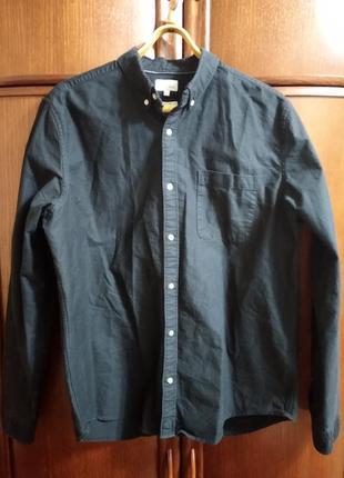 Рубашка джинсовая next (размер xl).