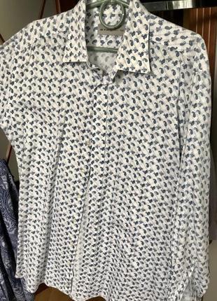 Рубашка бренд etro новая итальянская
