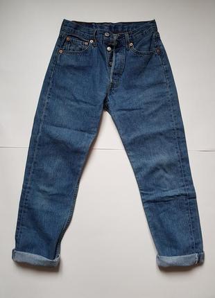 Классические женские джинсы бойфренды,оригинальные levis 501,джинсы с высокой посадкой