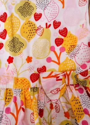 Яркое летнее платье сарафан с бантом2 фото