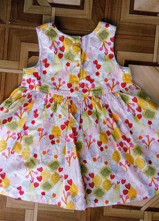 Яркое летнее платье сарафан с бантом3 фото