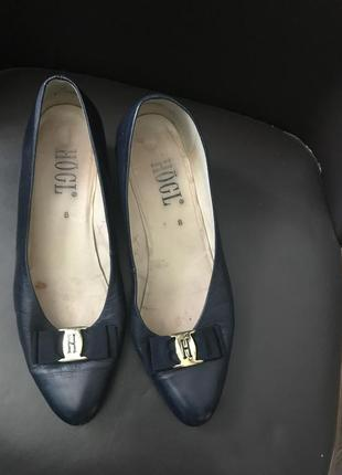 Hogl туфельки кожаные 41