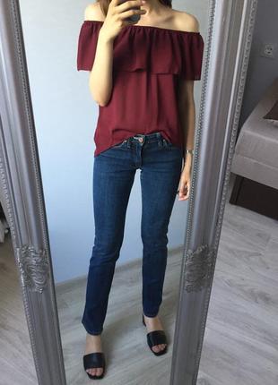 Sale! темно-синие джинсы acne jeans