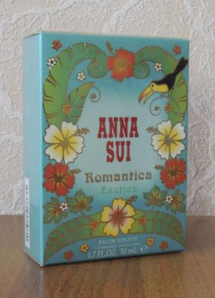 Anna sui romantica exotica 50 мл оригинал