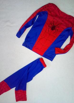 Новогодний костюм человек паук на мальчика 5/7лет