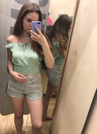 Блузка топ футболка bershka