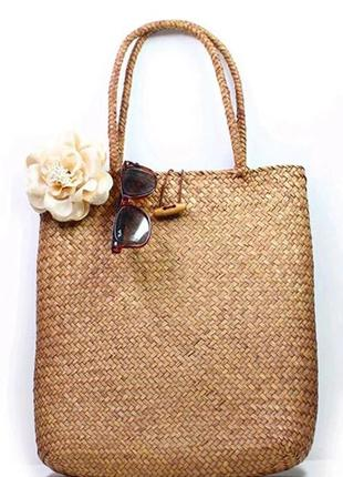 Соломенная сумка
