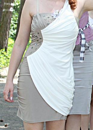 Супер платье на одной бретеле