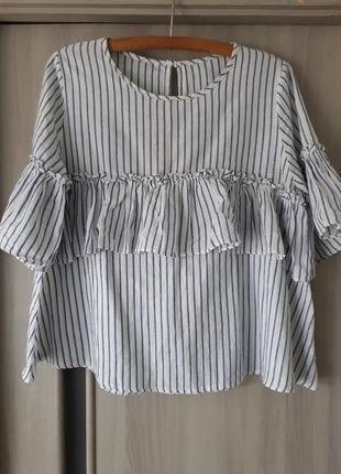 Футболка нарядная блуза