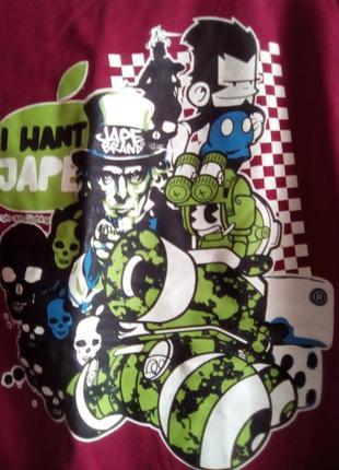 Безшовная футболка-djungle ape- l3 фото