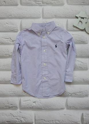 Ralph lauren стильная рубашка на мальчика  2 года