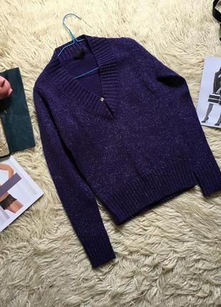 Шикарный свитер с блестками