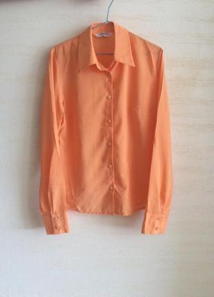 Рубашка блузка sensus в полосочку
