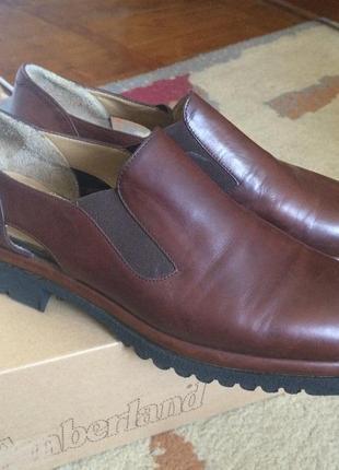Туфли осенние на тракторной подошве