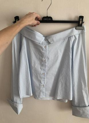 Новая итальянская блуза рубашка