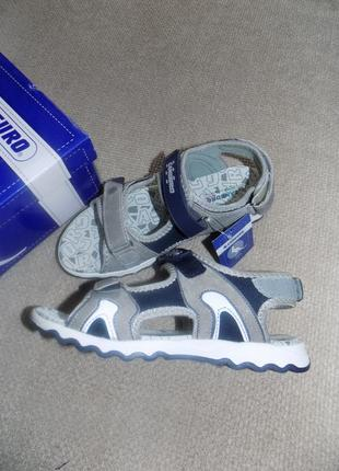 Кожаные сандалии на мальчика италия