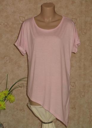 Футболка/блузка розовая размер 42