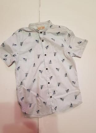 Zara рубашка на мальчика