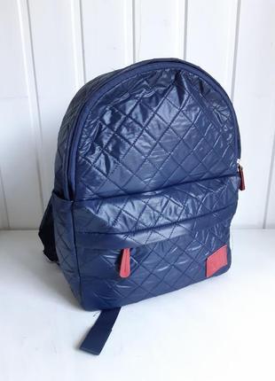 Рюкзак темно синий1 фото