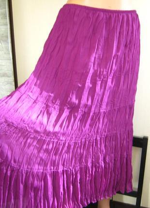 Сказочная шикарнейшая летняя юбка состояние новой