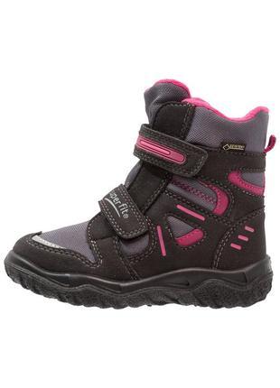 Зимние мембранные ботинки superfit husky 32, 34р. для девочки