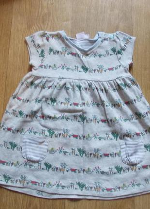 Платье 6-9 мес, mini club