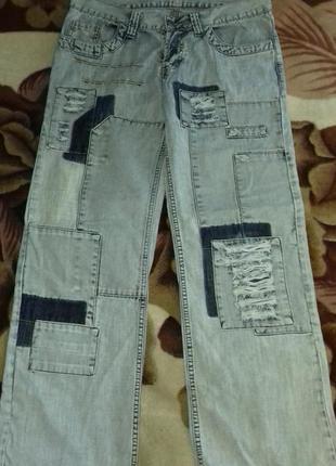 Мужские штаны джынс.