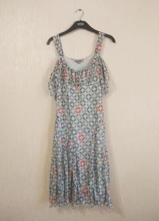 Легкое платье в узор kookai размер s