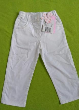 Летние штаны chicco 86 см