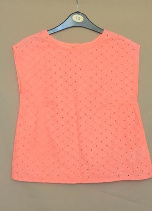 Красивая футболка девочке kiabi размер 10 лет