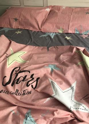 Двухспальной комплект постельного белья из бязь голд