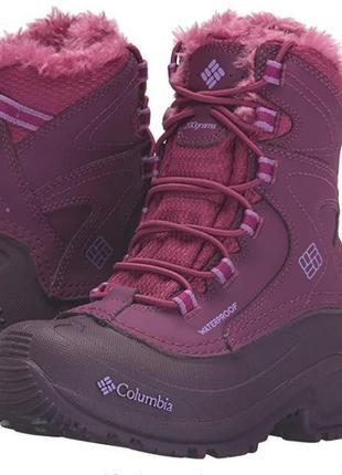 Зимние ботинки columbia на девочку