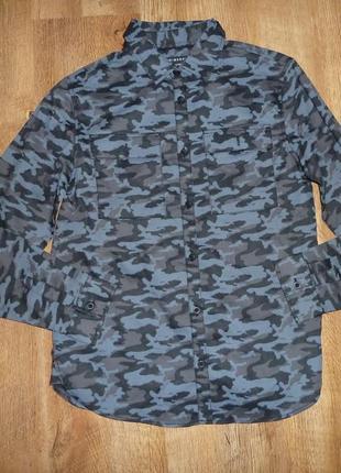 Primark рубашка хаки на 12-13 лет