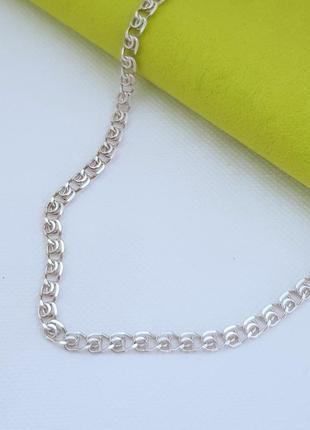 Серебряная цепь 925 проба, длина 40 см.