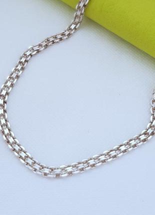 Серебряная цепь 925 проба,длина 40 см.