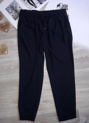 Zara брюки синие легкие . сток.