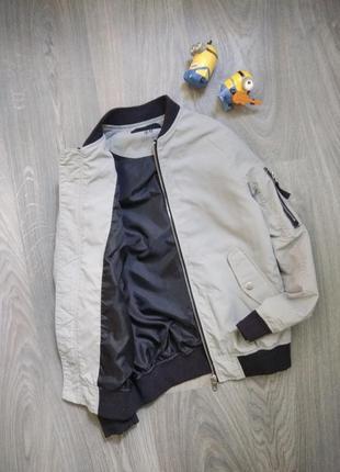 9-10л бомбер ветровка куртка h&m