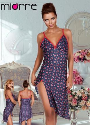 Miorre ночная сорочка с цветочным принтом