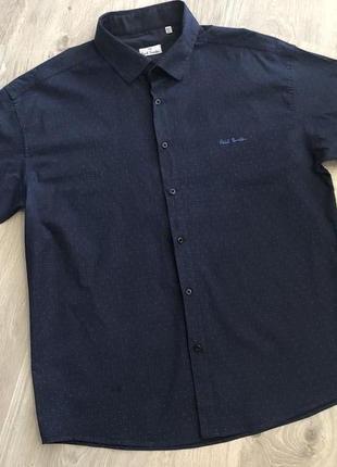 Мужская рубашка. рубашка летняя. рубашка без рукавов.  размер 50 (4xl)