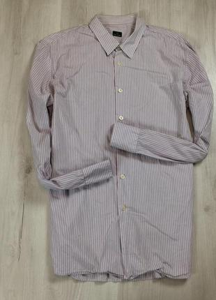 L приталенная рубашка paul smith пул смич мужская