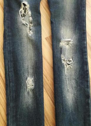 Рваные джинсы,  скинни2 фото